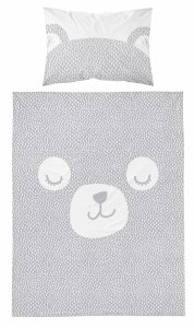 Pościel niemowlęca bambusowa 100x135 MIŚ (3035A)