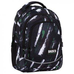 Plecak szkolny młodzieżowy BackUP 26 L  pasy, GRID (PLB4X49)