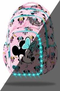 Plecak CoolPack SPARK LED  Myszka Minnie, MINNIE MOUSE PINK (B45302)