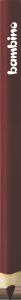 KREDKA TRÓJKĄTNA BAMBINO w oprawie drewnianej BRĄZOWA (03714)