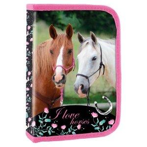 Piórnik I LOVE HORSES Konie bez wyposażenia (PJKO20)