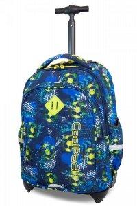 Plecak CoolPack JUNIOR na kółkach w piłkę nożą, FOOTBALL BLUE (B28037)