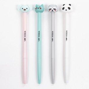 Długopis automatyczny z figurką KIDEA Panda (DAFDKAD)