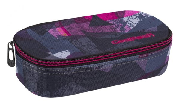 Piórnik CoolPack CAMPUS różowe wzory geometryczne, PINK ABSTRACT (87039CP)
