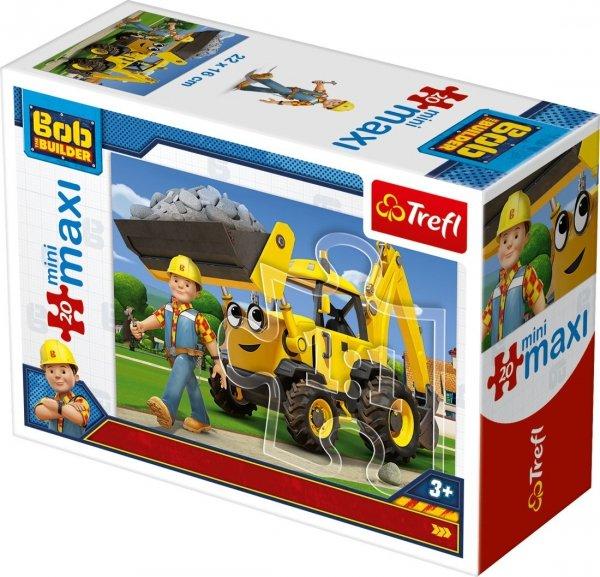 TREFL Puzzle miniMaxi 20 el. Bob Budowniczy (21010)
