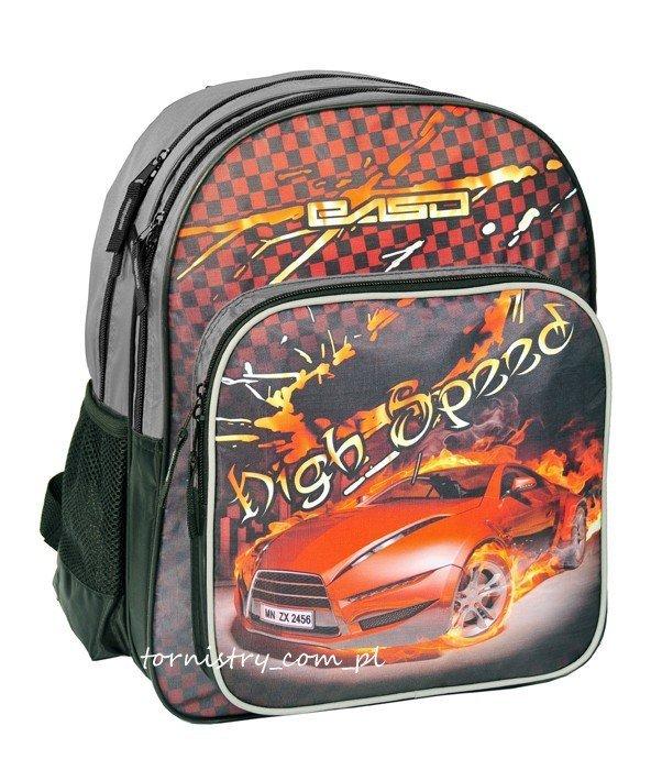 Plecak szkolny High Speed, Auto Wyścigowe (13162D)