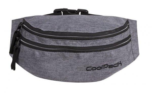 SASZETKA NERKA CoolPack na pas torba MADISON szara, SNOW GREY/SILVER (88374CP)