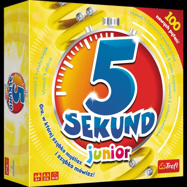 TREFL Gra towarzyska 5 sekund junior (01779)