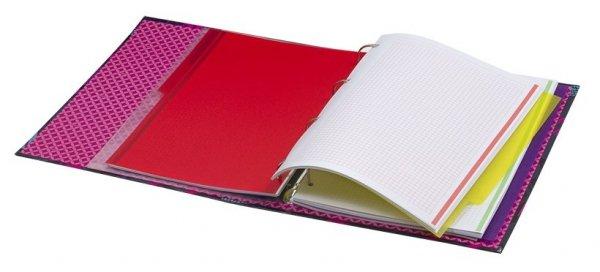 CoolPack Segregator A4 z kartkami RING BOOK PINK SHARKS (87100CP)