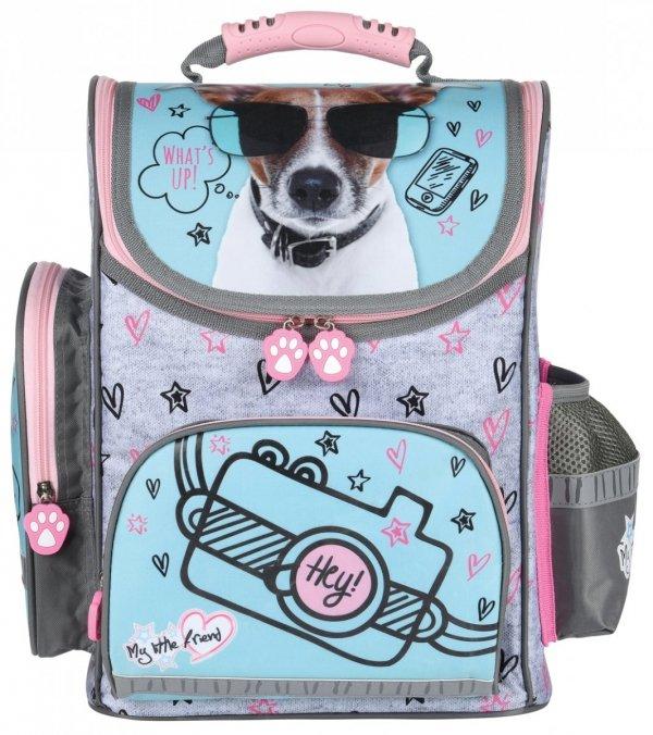 ZESTAW 3 el. Tornister szkolny My Little Friend DOG Piesek (28566SET3CZ)