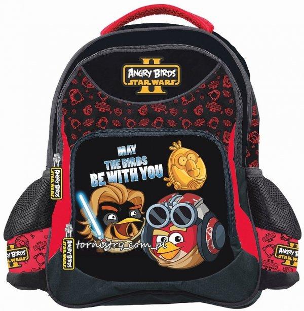 ZESTAW 4 el. Plecak szkolny Angry Birds Star Wars II (90572set)