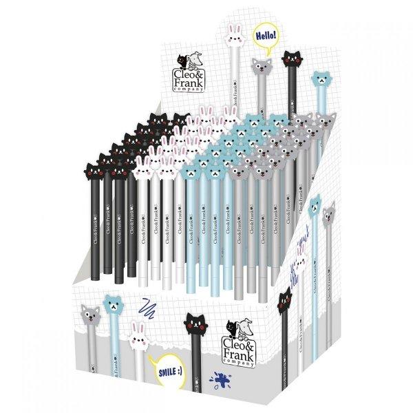 Długopis żelowy CLEO & FRANK automatyczny  (DZBFCFD)