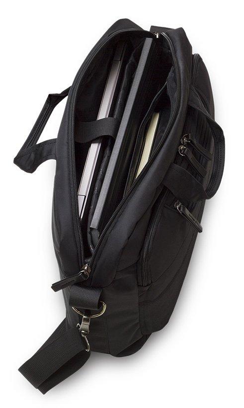 Torba biznesowa CoolPack ONTARIO czarna, BLACK (17220CP)