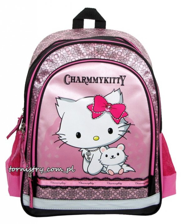 Plecak szkolny Charmmy Kitty, licencja Sanrio (PL15CK)
