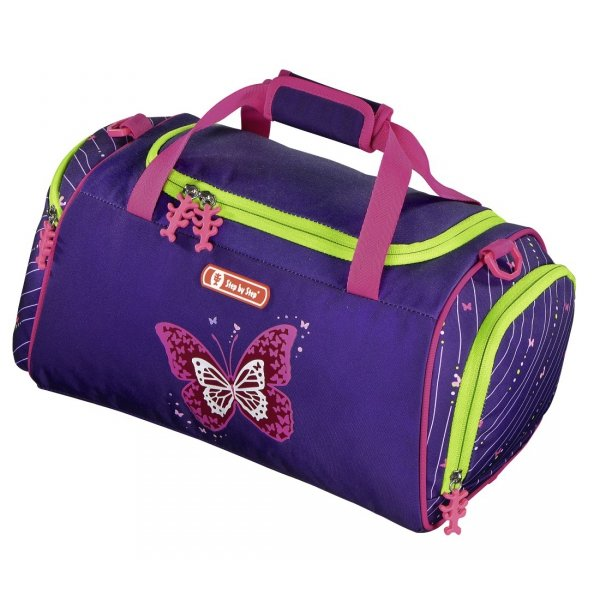 Torba sportowa Step by Step SHINY BUTTERFLY, Hama (138967)
