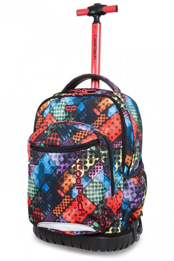 ZESTAW 2 el. Plecak CoolPack SWIFT na kółkach w kolorowe bloki, BLOX (B04014SET2CZ)