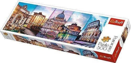 TREFL Puzzle 500 el. PANORAMA Podróż do Włoch (29505)