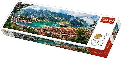 TREFL Puzzle 500 el. PANORAMA Kotor, Czarnogóra (29506)