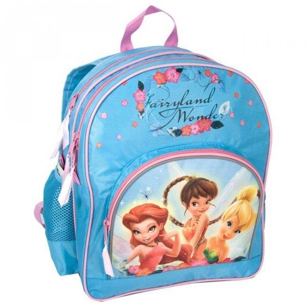 Plecak szkolny Wróżki Dzwoneczek, licencja Disney (DDZ157)