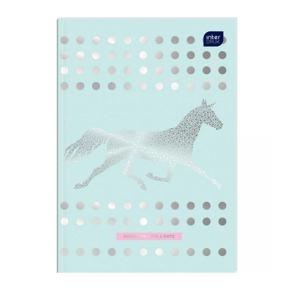 Zeszyt A5 64 kartki w kropki MIX dziewczęcy BULLET JOURNAL 58908)
