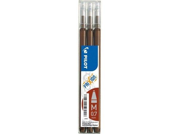 Wkład do długopisu żelowego wymazywalnego Frixion PILOT brązowy (91804)