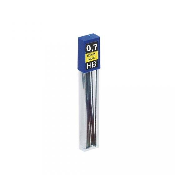 Grafity do ołówków automatycznych 0,7 mm HB, GRAND (160-1124)