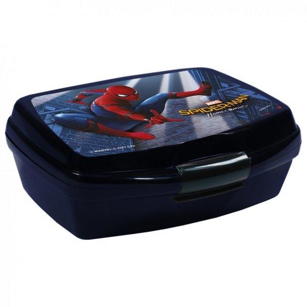 Zestaw Śniadaniówka + Bidon w kartoniku SPIDERMAN HOMECOMING (ZSBSH10)
