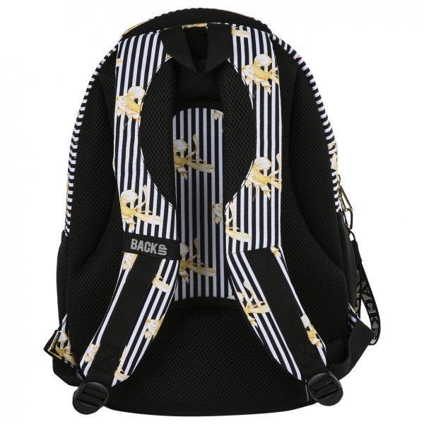Plecak szkolny młodzieżowy BackUP ZŁOTE RYBKI (PLB2N16)
