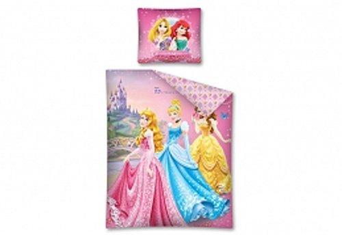 Komplet pościeli pościel Princess Księżniczki 160 x 200 cm (PRI01DC)
