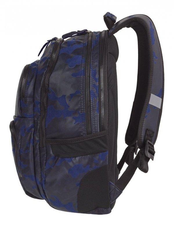 Plecak CoolPack UNIT niebiesko grafitowe moro, FLOCK CAMO BLUE (84236CP)