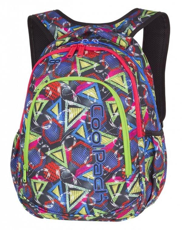 Plecak CoolPack PRIME kolorowe wzory geometryczne, GEOMETRIC SHAPES + gratis (85243CP)