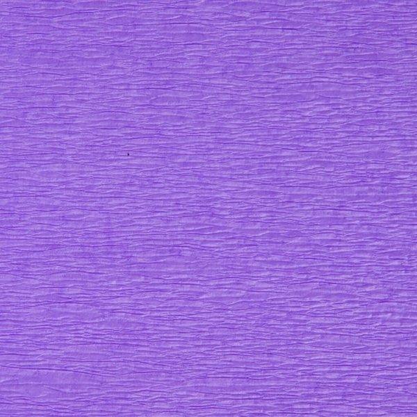 Bibuła marszczona krepa JASNOFIOLETOWA