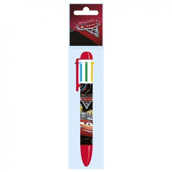 Długopis automatyczny 6 kolorów CARS (D6KCA42)