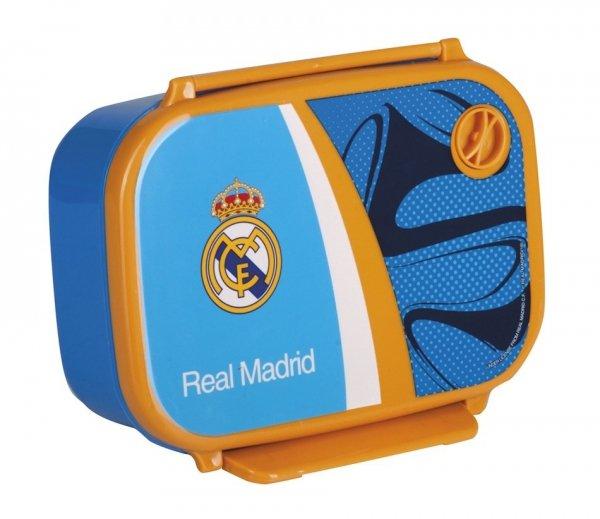 Zestaw Śniadaniówka + Bidon Real Madryt (B+Ś)