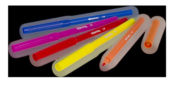 Flamastry 12 kolorów COLORINO KIDS (14588PTR)