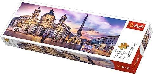TREFL Puzzle 500 el. PANORAMA Piazza Navona, Rome (29501)