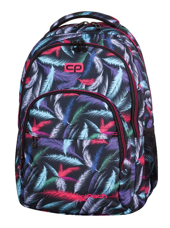 Plecak CoolPack BASIC w kolorowe pióropusze, PLUMES 963 (70881)