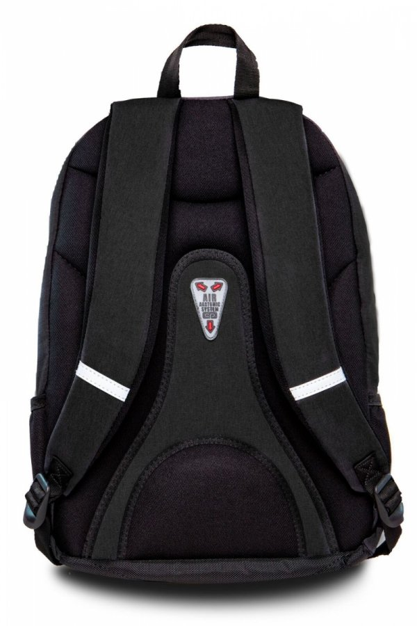 Plecak CoolPack HIPPIE czarny w błyszczące naszywki SPARKLING BADGES BLACK (22424)