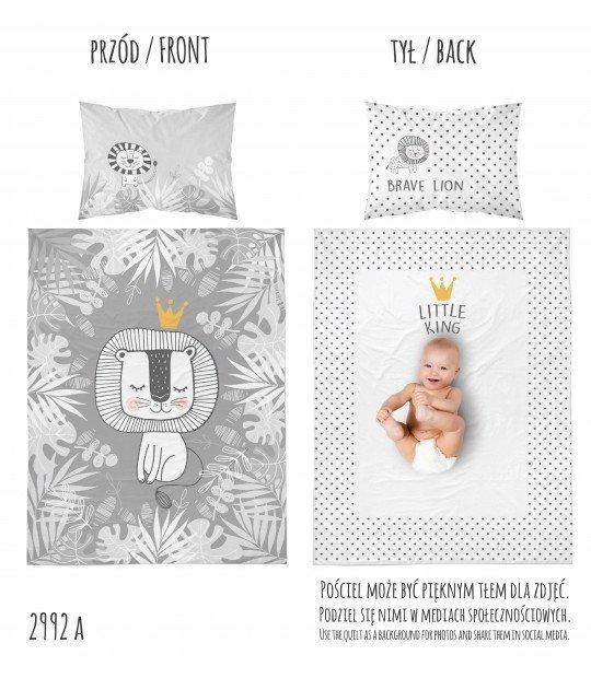 Pościel niemowlęca 100x135 LEW (2992A)