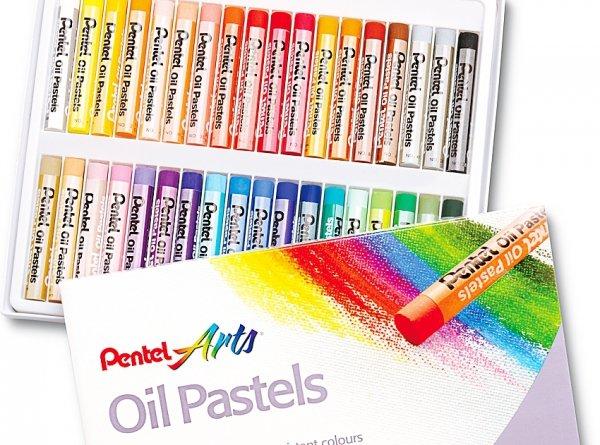 Pastele olejne szkolne 36 kolorów PENTEL (PEN36)