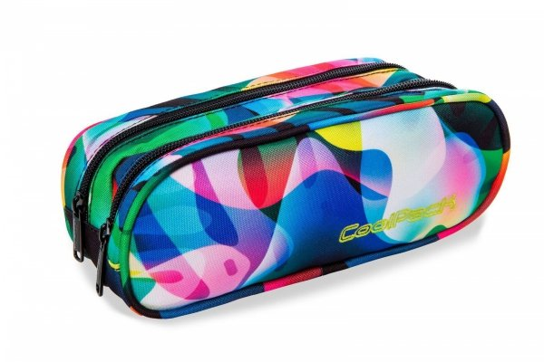 Piórnik CoolPack CLEVER w kolorowe smugi RAINBOW LEAVES (96843)