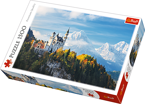 TREFL Puzzle 1500 el. Alpy Bawarskie (26133)