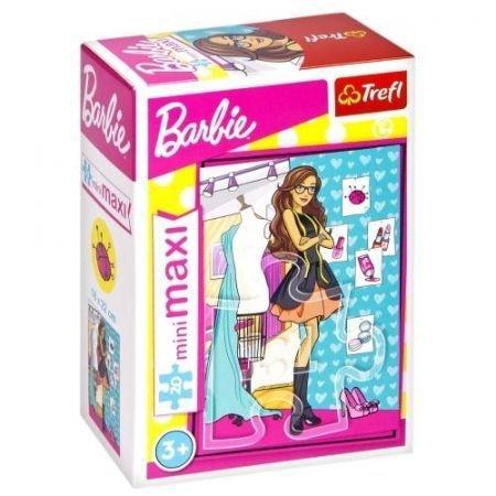 TREFL Puzzle miniMaxi 20 el. Barbie, Projektantka mody (21061)