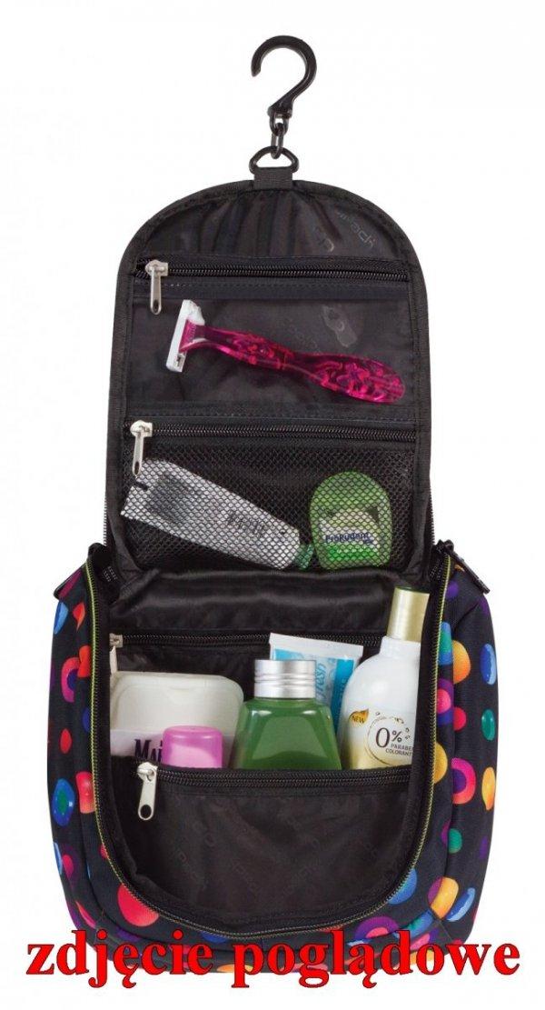Kosmetyczka COOLPACK TRAVEL w kolorowe pióropusze, PLUMES 969 (70942)