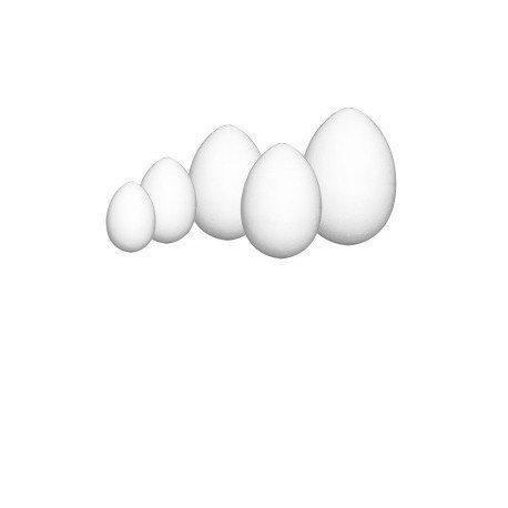 Jajko wielkanocne jajka styropianowe 6 cm (402927)