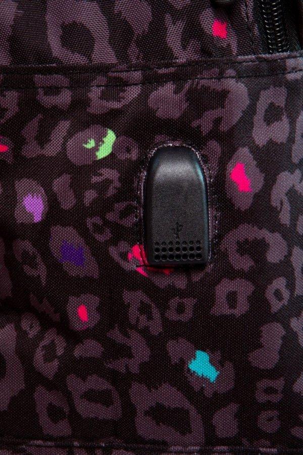 Plecak CoolPack BREAK w czarną panterkę, BLACK PANTHER (B24044)