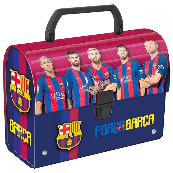 Kuferek oklejany tekturowy FC BARCELONA (KOBC)
