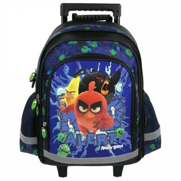 Plecak szkolny na kółkach ANGRY BIRDS (PL15KAB13)