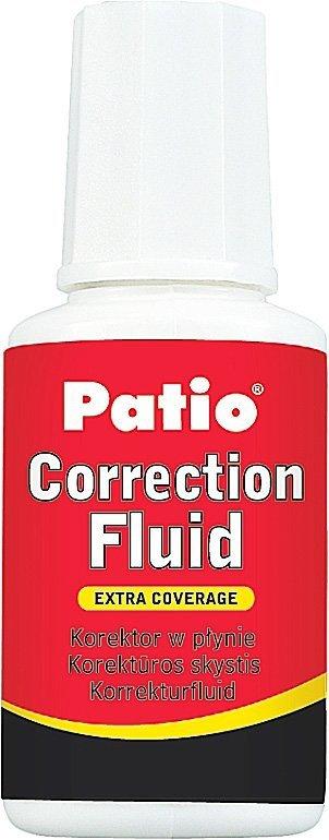 Korektor szkolny w płynie z pędzelkiem 20 ml PATIO (88005PTR)