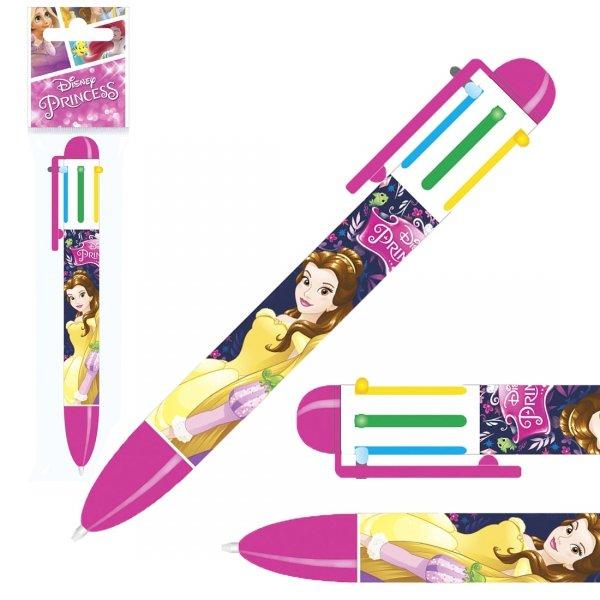 Długopis 6 kolorów PRINCESS Księżniczki (D6KKS10)
